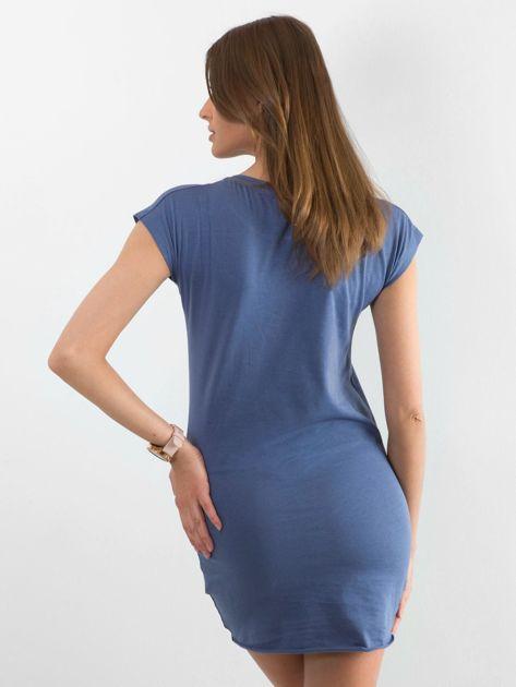 Niebieska sukienka Limousine                              zdj.                              2