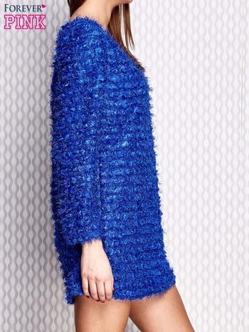 Niebieska sukienka fluffy                              zdj.                              3