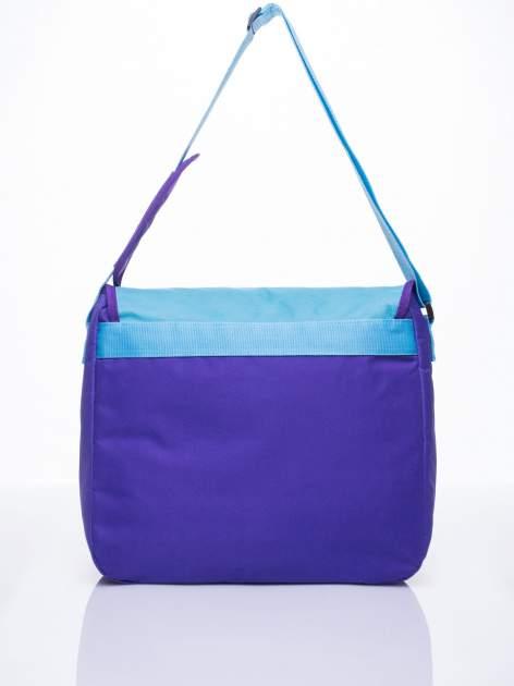 Niebieska torba szkolna DISNEY Violetta                                  zdj.                                  3