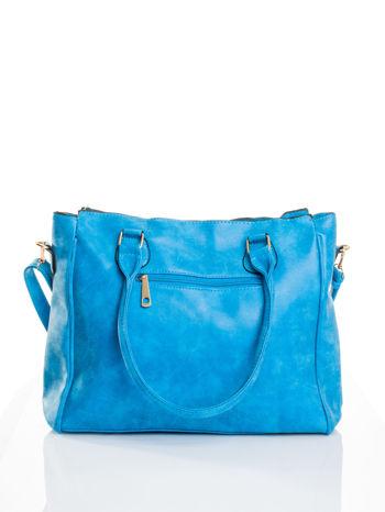 Niebieska torebka miejska                                  zdj.                                  2