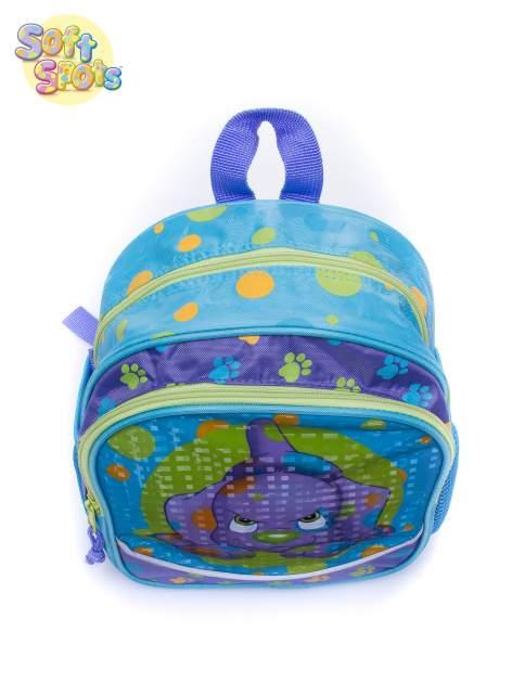 Niebieski plecak na wycieczkę DISNEY Soft Spots                                  zdj.                                  5