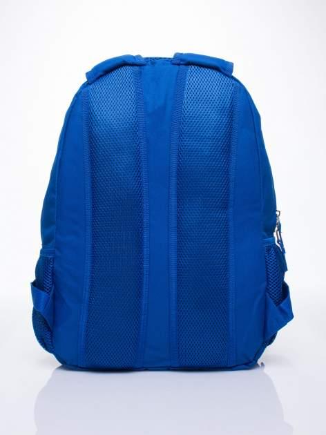 Niebieski plecak szkolny DISNEY w kwiatki                                  zdj.                                  4