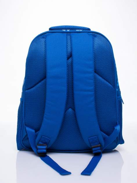 Niebieski plecak szkolny DISNEY z kotem                                  zdj.                                  3