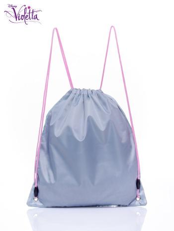 Niebieski plecak worek DISNEY Violetta                                  zdj.                                  2