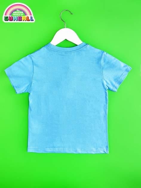 Niebieski t-shirt chłopięcy GUMBALL                                  zdj.                                  2