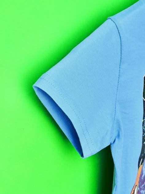 Niebieski t-shirt chłopięcy GUMBALL                                  zdj.                                  6