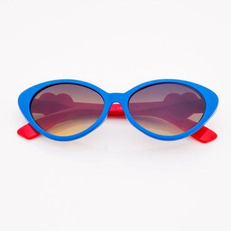 Niebieskie Dziecięce Okulary przeciwsłoneczne                              zdj.                              1