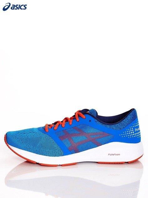 Niebieskie buty męskie sportowe ASICS RoadHawk FF                              zdj.                              5