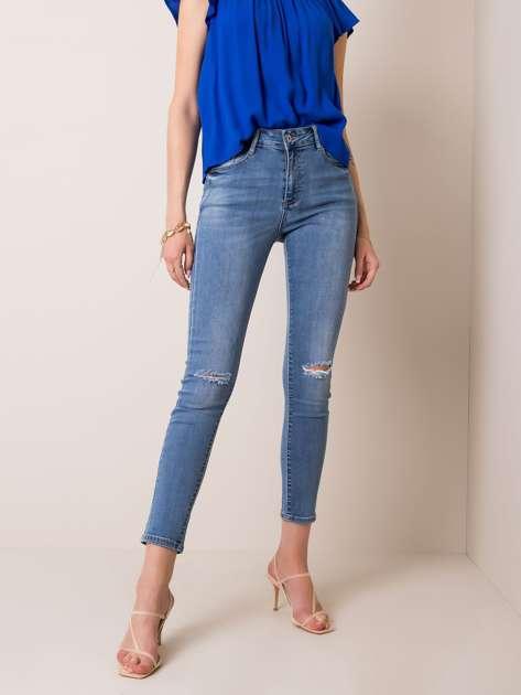Niebieskie jeansy Antoine