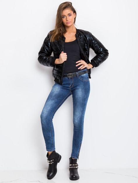 Niebieskie jeansy Bottom                              zdj.                              8