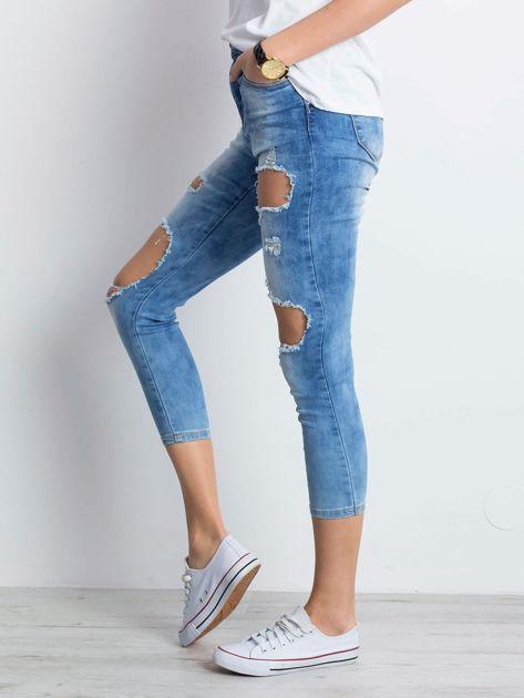 Niebieskie jeansy Branch                              zdj.                              3