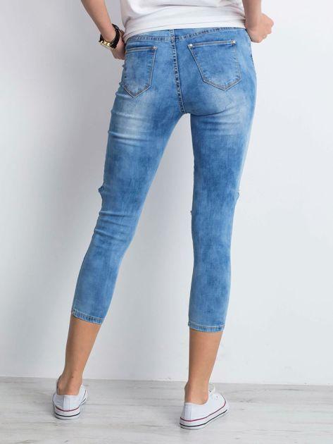 Niebieskie jeansy Branch                              zdj.                              2