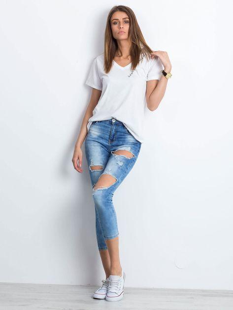 Niebieskie jeansy Branch                              zdj.                              4