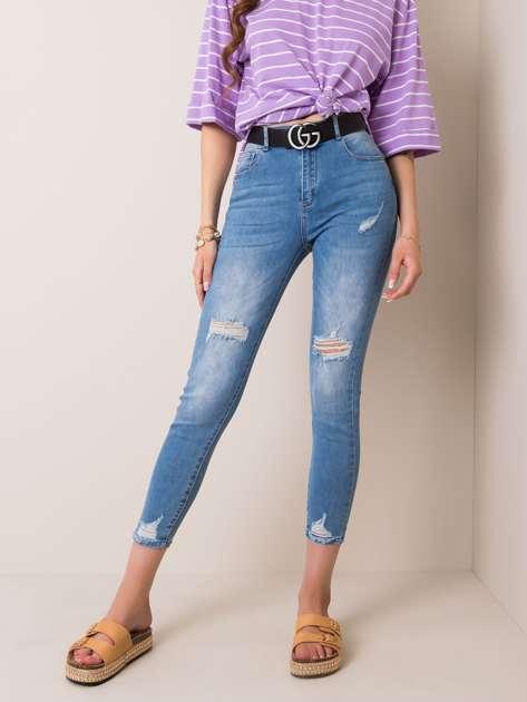 Niebieskie jeansy Callme