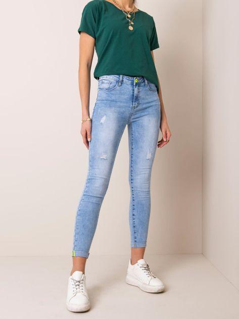 Niebieskie jeansy Camille