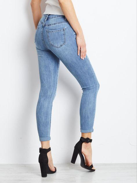 Niebieskie jeansy Crushin                              zdj.                              2