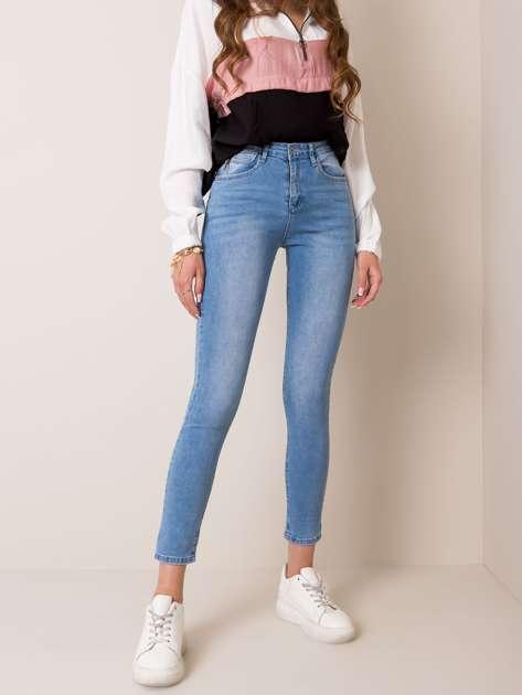 Niebieskie jeansy Heart