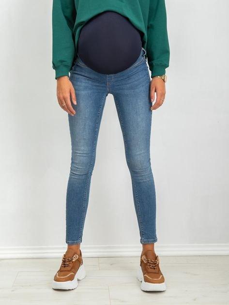 Niebieskie jeansy ciążowe Lillie                              zdj.                              1