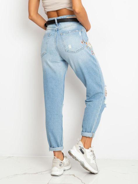 Niebieskie jeansy Melody                              zdj.                              2
