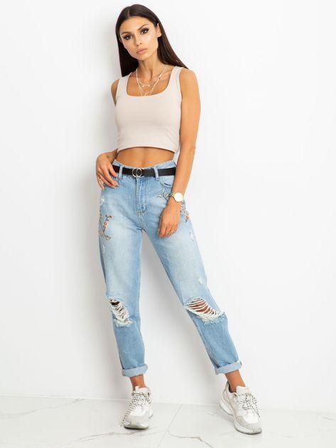 Niebieskie jeansy Melody                              zdj.                              4