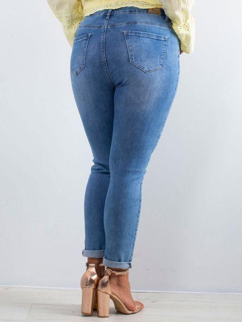 Niebieskie jeansy Noisy PLUS SIZE                              zdj.                              2