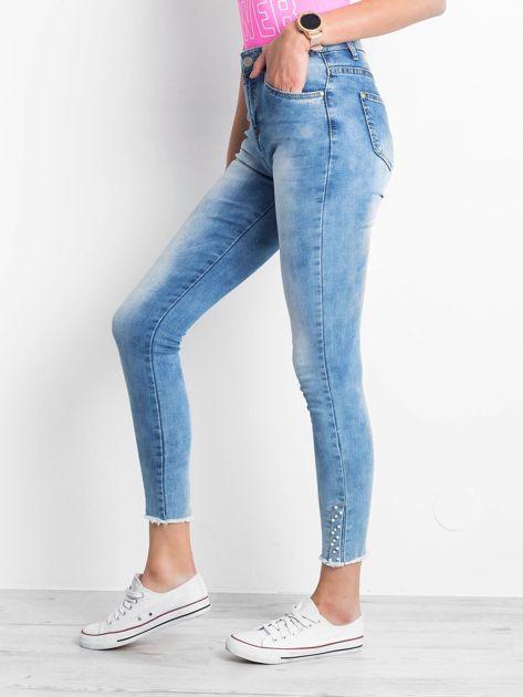 Niebieskie jeansy Prudence                               zdj.                              3