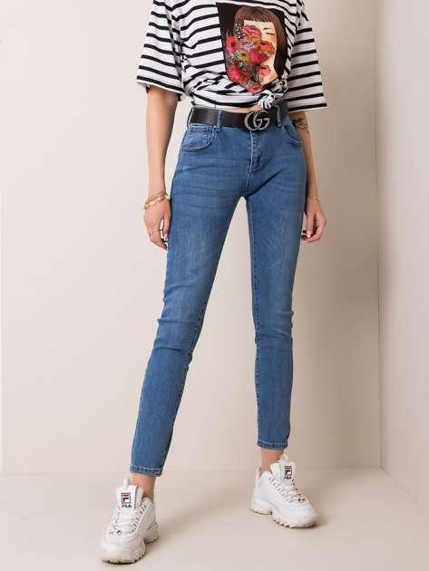 Niebieskie jeansy Sammy