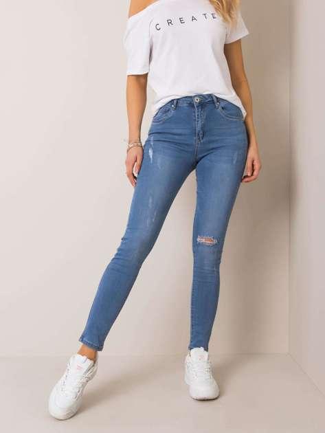 Niebieskie jeansy Serenity