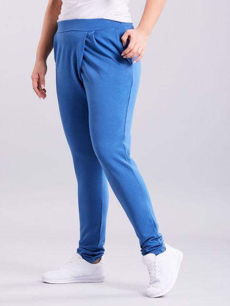 Niebieskie spodnie Enter                              zdj.                              3