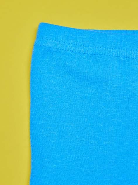 Niebieskie legginsy dla dziewczynki z nadrukiem MY LITTLE PONY                                  zdj.                                  4