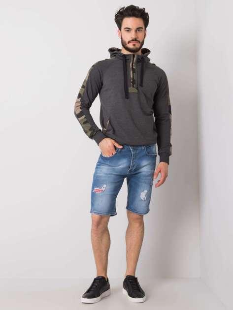 Niebieskie spodenki męskie jeansowe Barrett
