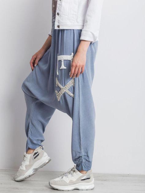 Niebieskie spodnie Halfway                              zdj.                              6