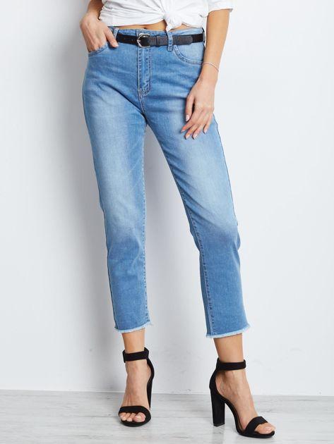 Niebieskie spodnie jeansowe Outlander                              zdj.                              1
