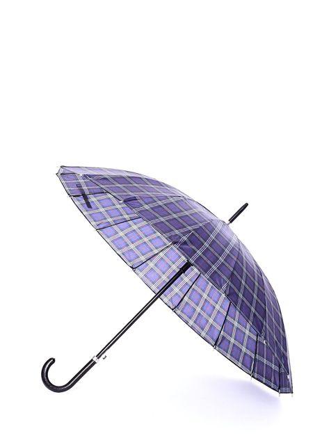 Niebiesko-czerwony parasol w kratkę                              zdj.                              1
