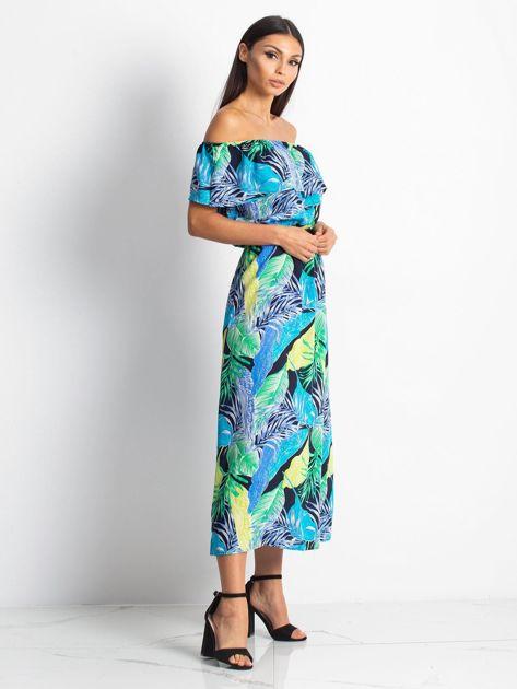 Niebiesko-zielona sukienka Caraibbean                              zdj.                              3
