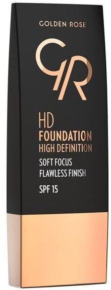 Nowość! GOLDEN ROSE Podkład HD soft focus 111 30 ml