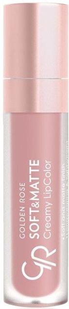 Nowość!!! GOLDEN ROSE Soft & Matte Creamy Lip Color matowa pomadka 105 5,5 ml