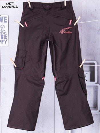 O'NEILL Brązowe spodnie narciarskie dla dziewczynki                              zdj.                              2