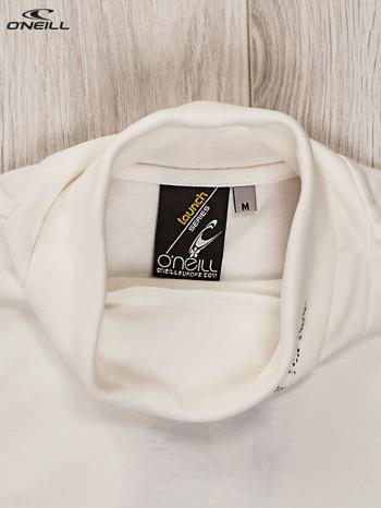 O'NEILL Ecru bluzka dla dziewczynki z golfem i dżetami                                  zdj.                                  3