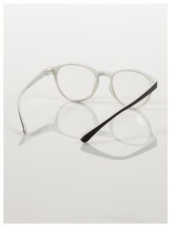 Okulary korekcyjne  +1.0 D dwukolorowe ,do czytania, stylizowane na RAY BAN +GRATIS PLASTIKOWE ETUI I ŚCIERECZKA Z MIKROFIBRY                                  zdj.                                  4