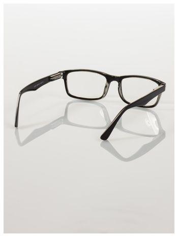 Okulary korekcyjne +1.0 D ,model WAYFARER do czytania z systemem FLEX na zausznikach +GRATIS PLASTIKOWE ETUI I ŚCIERECZKA Z MIKROFIBRY                                  zdj.                                  4