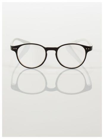 Okulary korekcyjne  +1.5 D dwukolorowe ,do czytania, stylizowane na RAY BAN +GRATIS PLASTIKOWE ETUI I ŚCIERECZKA Z MIKROFIBRY                                  zdj.                                  3