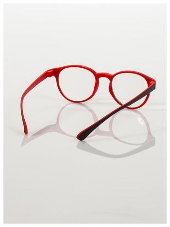 Okulary korekcyjne  +3.5 D dwukolorowe ,do czytania, stylizowane na RAY BAN +GRATIS PLASTIKOWE ETUI I ŚCIERECZKA Z MIKROFIBRY                                  zdj.                                  4