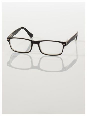 Okulary korekcyjne +4.0 D ,model WAYFARER do czytania z systemem FLEX na zausznikach +GRATIS PLASTIKOWE ETUI I ŚCIERECZKA Z MIKROFIBRY                                  zdj.                                  3