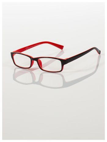 Okulary korekcyjne dwukolorowe do czytania +3.0 D                                    zdj.                                  1