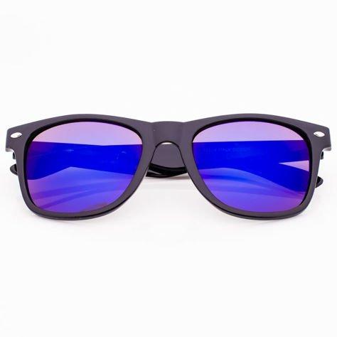 Okulary przeciwsłoneczne Typu WAYFARER Niebieskie                              zdj.                              1