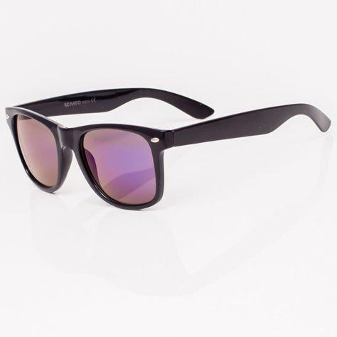 Okulary przeciwsłoneczne Typu WAYFARER Niebieskie                              zdj.                              2