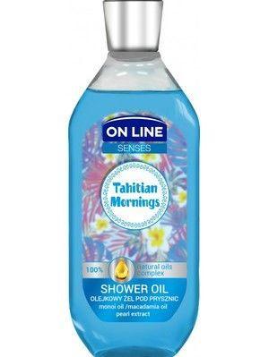 On Line Senses Olejkowy Żel pod prysznic Tahitian Morning  500 ml