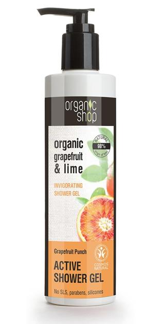 """Organic Shop Żel pod prysznic Orzeźwiający Grejpfrut 280 ml"""""""