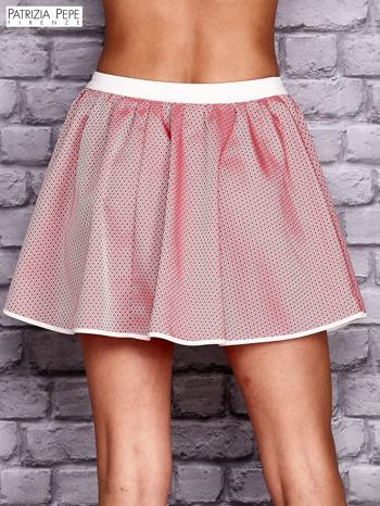 PATRIZIA PEPE Różowa rozkloszowana spódnica                                  zdj.                                  2